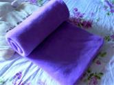 雅丝蓝家纺毛毯展示