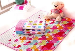韩国全棉地毯 儿童房的