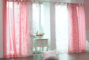 韩式布艺窗帘打造浪漫居室格调