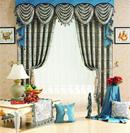 欧式布艺窗帘打造低调华丽家居