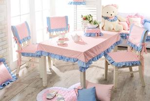 韩式餐桌布艺打造浪漫餐桌空间