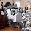精致奢华床品打造雅致妩媚卧室