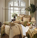 经典奢华床品打造高贵华丽卧室