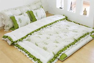 韩式榻榻米床品套件打造浪漫满屋