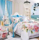 花朵床品为卧室平添纯美浪漫感觉