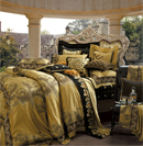 高贵奢华床品打造高贵精致卧室