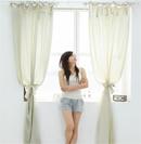 甜美韩式窗帘打造清新甜美公主房
