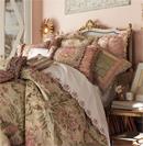 法式床品细节演绎别致奢华生活