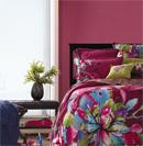 绚烂床品自然舒适打造温暖居室