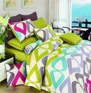 时尚炫彩床品提升卧室温暖度