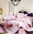 精美花朵床品让卧室媚态横生