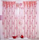 韩式布艺窗帘让家感觉更温馨