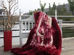 紫罗兰家纺毛毯赏析