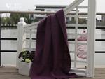 紫罗兰秋冬新品紫色新西兰毛毯