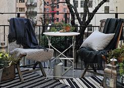 创意阳台设计打造的幸福时光