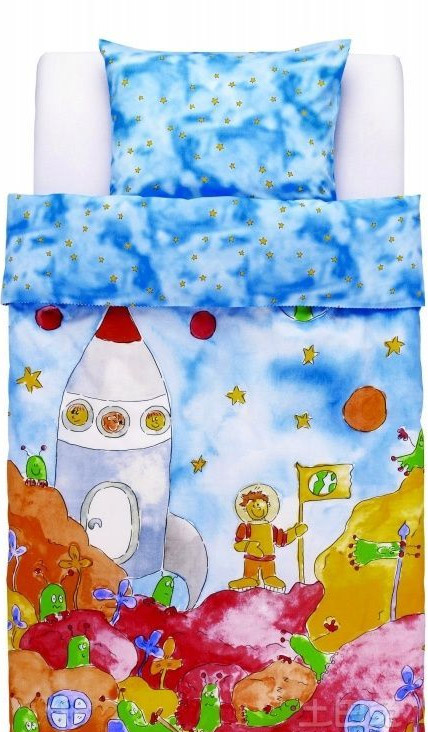 儿童床品够卡通 只为将好玩进行到底
