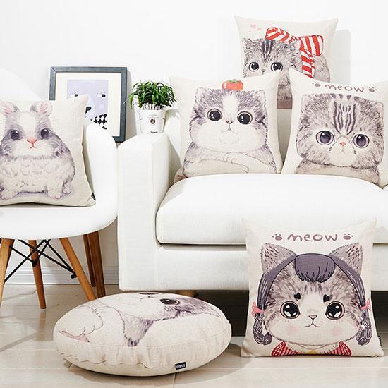 猫咪抱枕新潮来袭