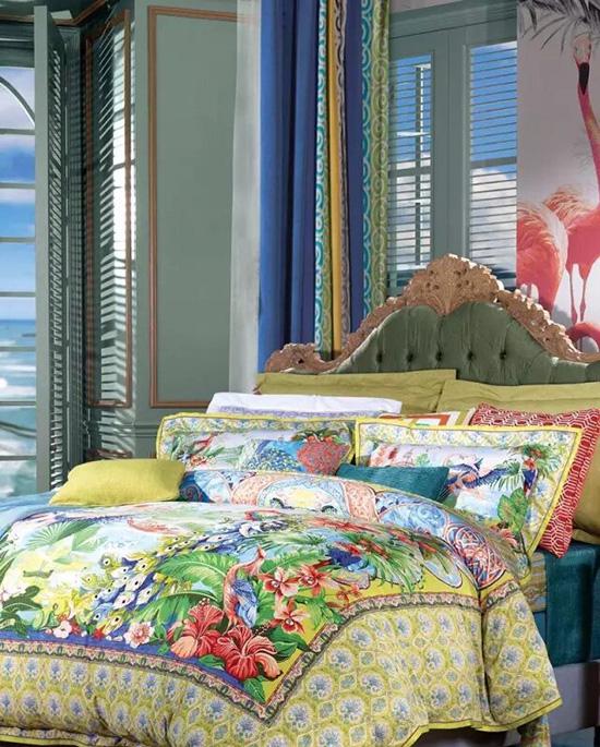 富安娜家纺2016夏季床品系列流行趋势