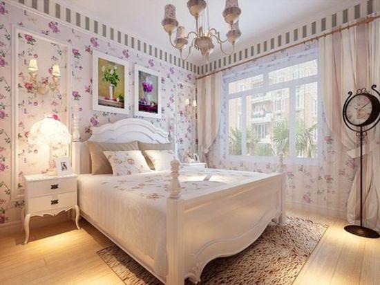 五款臥室裝修床品搭配 打造經典美式田園風