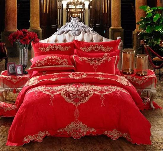 结婚的床_结婚铺婚床就是要这么讲究!-品牌家纺网
