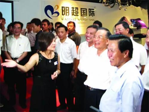 中国驰名商标梦天姿拥有人胡明亮:选择品牌就是选择前行