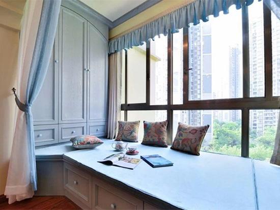 7种飘窗窗帘安装技巧,掌握这些你家飘窗美翻天!