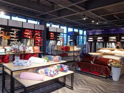 梦洁家纺智能工厂品类集合店正式开业