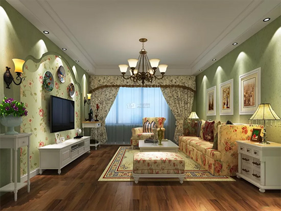 客厅窗帘∏的颜色选择技巧