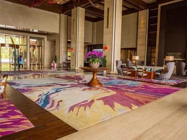 海馬地毯產品展示