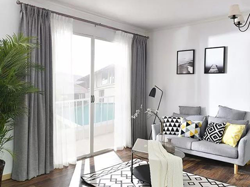別致不俗的窗簾案例,你中意哪個?