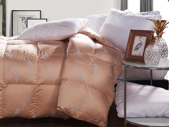 多喜爱冬奢95白鹅绒,一床有颜值的鹅绒被