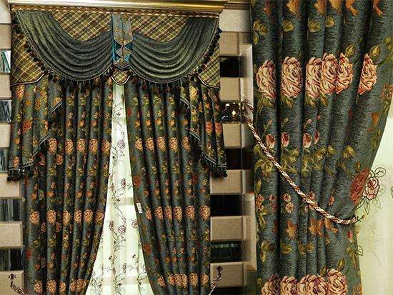 雪尼尔窗帘怎么选购?