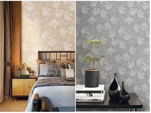 大自然壁高墙布新品《素影》 极简生活的纯粹