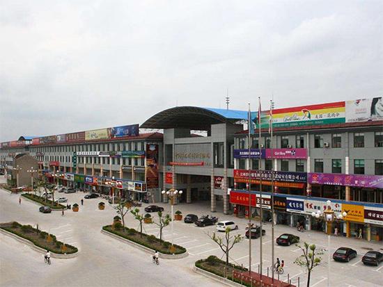 印度驻沪总领事考察叠石桥国际家纺城