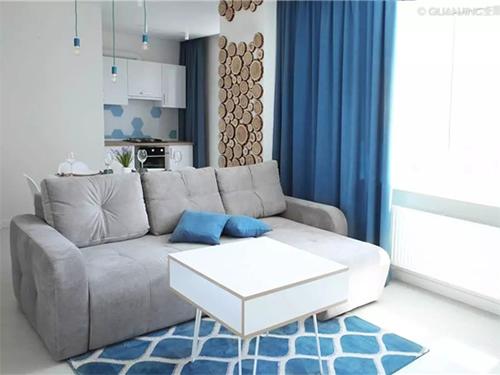 窗簾這樣搭配 空間顏值高幾個檔次