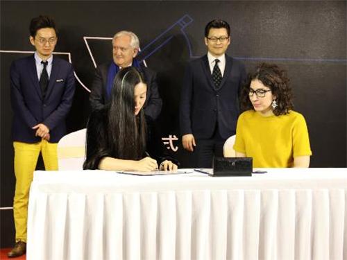梦洁家纺中法联名新品孵化 征战第五届中法品牌高峰论坛