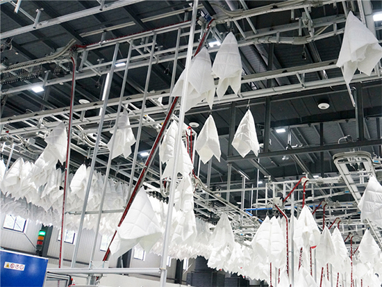 """湖南梦洁家纺利用创新与智能化生产获得多个全国""""称号"""""""