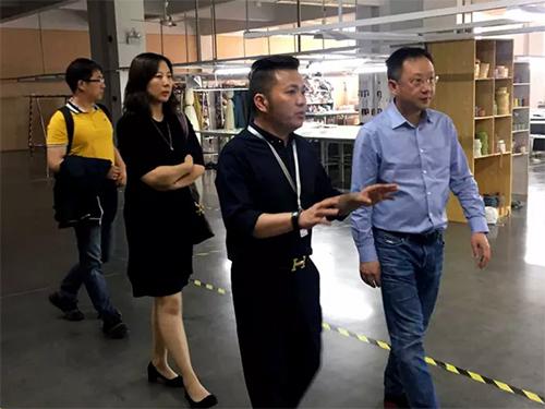 中国家纺协会会长莅临摩卡软装指导