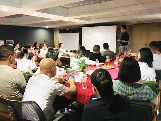 雨兰家纺重庆加盟商培训会议圆满结束
