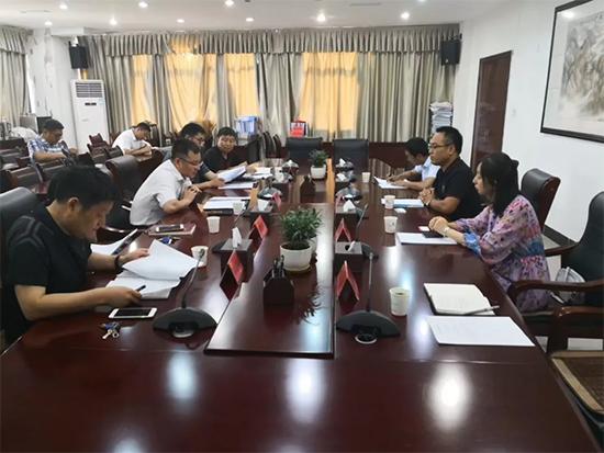 中紡協家紡家居委員會走訪調研蚌埠紡織產業