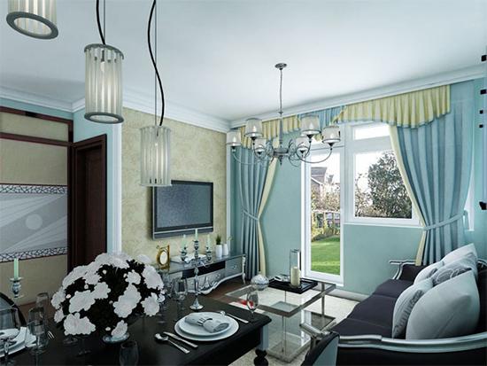 窗簾布藝加盟店櫥窗設計技巧
