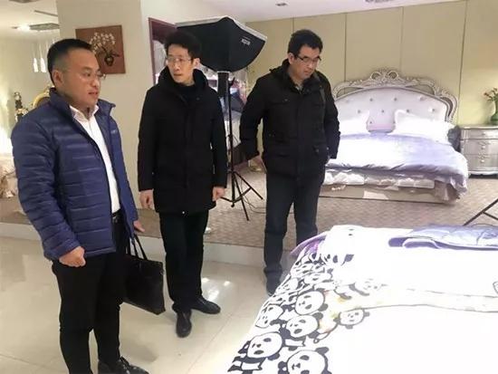 北中紡協家紡家居委員會走訪調研安徽知名羽絨企業!