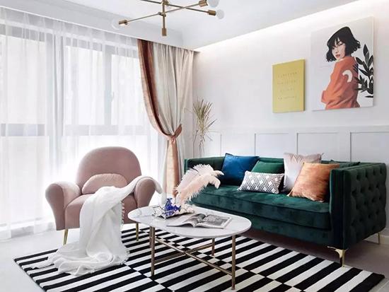 【罗幔帝格】窗帘搭配设计的玄机