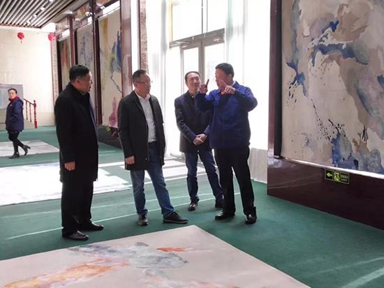 中国家纺协会赴山东阳信瑞鑫集团有限公司调研
