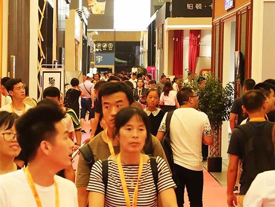 輕紡城墻紙墻布窗簾暨家居軟裝裝飾展覽會開幕