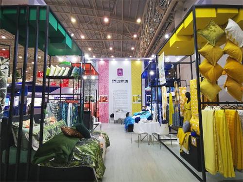 明遠家紡攜2020流行色亮相第三屆中國工業設計展覽會