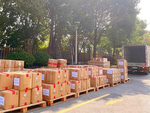 夢潔家紡為武漢四院捐贈3300套被服