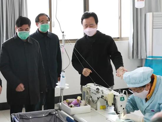 李國忠赴丹陽調研企業疫情防控和復工復產工作
