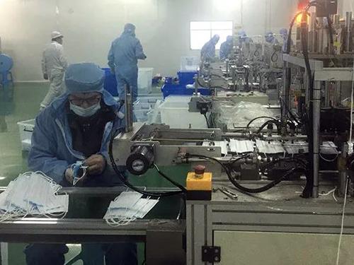 紫羅蘭家紡轉產防護用品支援國內外抗疫