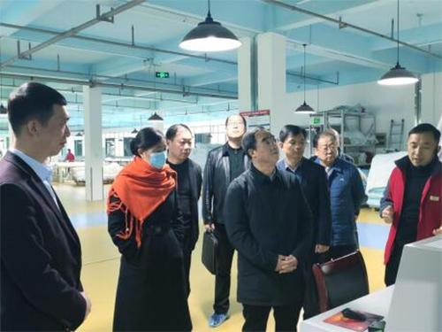 省台办肖祥清主任走访调研浏阳市台资企业